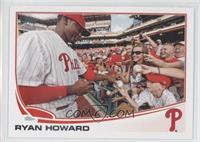 Ryan Howard Crowd Interaction
