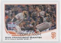 San Francisco Giants Team (Sergio Romo, Buster Posey)