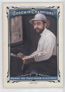 2013 Upper Deck Goodwin Champions #156 - [Missing]