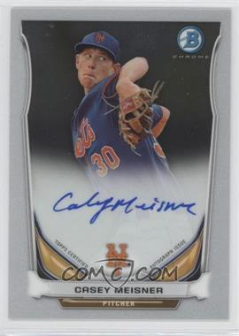 2014 Bowman - Prospect Autographs Chrome #BCAP-CM - Casey Meisner