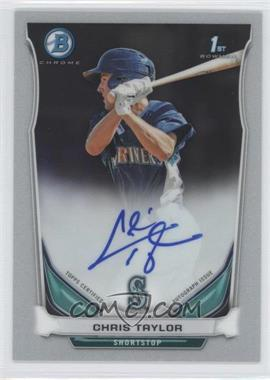 2014 Bowman - Prospect Autographs Chrome #BCAP-CT - Chris Taylor