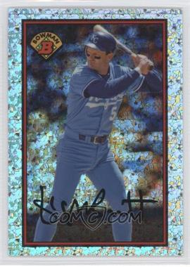 2014 Bowman 1989 Bowman is Back Silver Diamond Refractor #89BIB-GB - George Brett