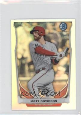 2014 Bowman Bowman Scout Top 5 Prospects Mini Chrome Refractors #BM-AD2 - Matt Davidson