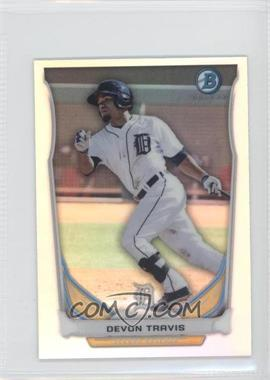2014 Bowman Bowman Scout Top 5 Prospects Mini Chrome Refractors #BM-DT2 - Devon Travis