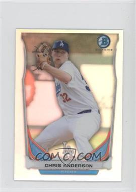 2014 Bowman Bowman Scout Top 5 Prospects Mini Chrome Refractors #BM-LAD4 - Chris Anderson