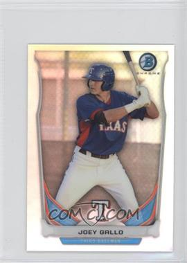 2014 Bowman Bowman Scout Top 5 Prospects Mini Chrome Refractors #BM-TR1 - Joey Gallo