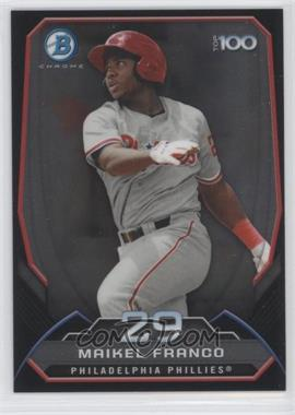 2014 Bowman Bowman's Top 100 Prospects Chrome #BTP-29 - Maikel Franco
