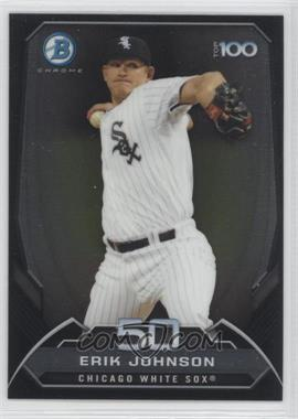 2014 Bowman Bowman's Top 100 Prospects Chrome #BTP-50 - Erik Johnson