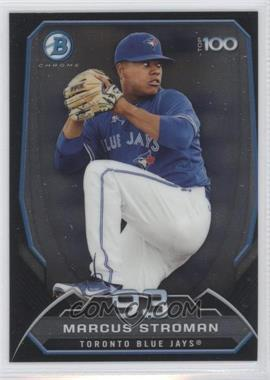2014 Bowman Bowman's Top 100 Prospects Chrome #BTP-93 - Marcus Stroman