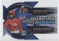 Rafael Montero, Maikel Franco /50