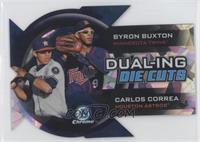 Byron Buxton, Carlos Correa /99