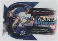Corey Seager, Eddie Butler #13/99