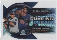 Byron Buxton, Carlos Correa /50