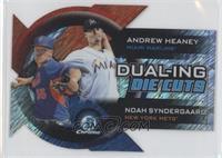Andrew Heaney, Noah Syndergaard /50