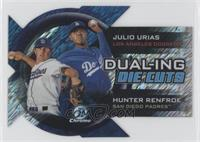Julio Urias, Hunter Renfroe /50