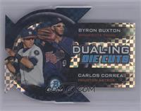 Byron Buxton, Carlos Correa /25 [Mint]