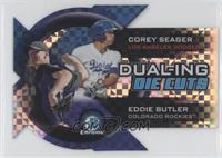 Corey Seager, Eddie Butler /25