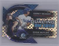 Corey Seager, Eddie Butler /25 [Mint]