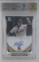Michael Conforto (Issued in 2015 Bowman Chrome) [BGS 9]