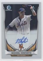 Michael Conforto (Issued in 2015 Bowman Chrome)