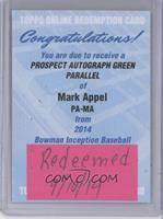 Mark Appel /25 [REDEMPTION Being Redeemed]