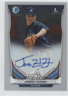 2014 Bowman Multi-Product Insert Prospect Autographs Chrome #BCAP-JHU - Jason Hursh