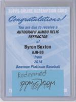 Byron Buxton [REDEMPTIONBeingRedeemed]