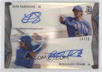Luis Sardinas, Rougned Odor /25