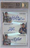 Mark Appel, George Springer, Carlos Correa /10 [BGS 9.5]