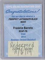 Franklin Barreto /50 [REDEMPTIONBeingRedeemed]