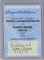 Franklin Barreto /500 [REDEMPTIONBeingRedeemed]