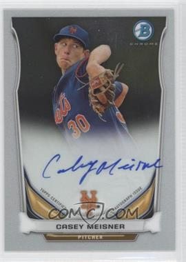2014 Bowman Prospect Autographs Chrome #BCAP-CM - Casey Meisner