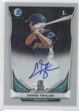 2014 Bowman Prospect Autographs Chrome #BCAP-CT - Chris Taylor