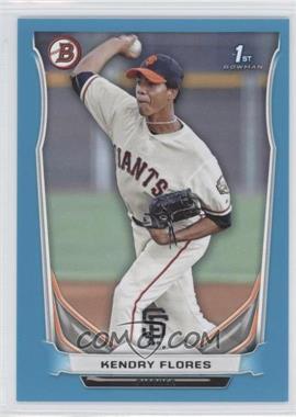 2014 Bowman Prospects Blue #BP82 - Kendry Flores /500