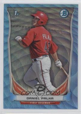 2014 Bowman Prospects Chrome Blue Wave Refractor #BCP63 - Daniel Palka