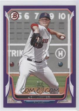 2014 Bowman Purple #98 - Jon Lester /10
