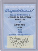 Aaron Nola /5 [REDEMPTION Being Redeemed]