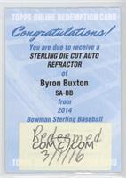 Byron Buxton /50 [REDEMPTION Being Redeemed]