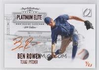 Ben Rowen /25