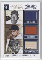 Gil Hodges, Jim Gilliam, Roy Campanella /99