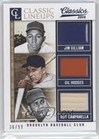 Gil Hodges, Jim Gilliam, Roy Campanella /99