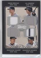 Chase Whitley, Yangervis Solarte, J.R. Murphy, Masahiro Tanaka /99