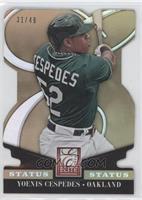 Yoenis Cespedes /49