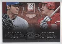 Mike Trout, Yu Darvish /999