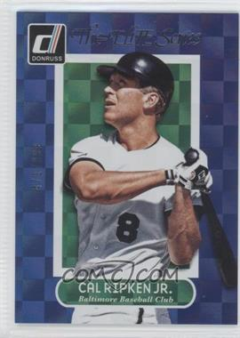 2014 Panini Donruss The Elite Series Series 1 #17 - Cal Ripken Jr. /999