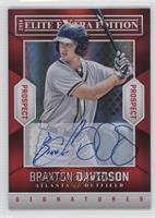 Braxton Davidson /499