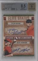 Nick Howard, Tyler Beede /25 [BGS 8.5]