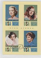 Grace Kelly, Rita Hayworth, Claudette Colbert, Jacqueline Kennedy Onassis