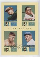 Bobby Jones, Gene Tunney, Jim Thorpe, Walter Hagen