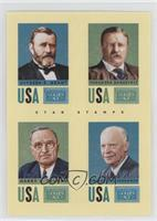Harry S. Truman, Ulysses S. Grant, Dwight D. Eisenhower, Theodore Roosevelt
